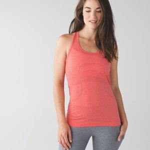 Lululemon Swiftly Tech Racerback (First Release) Heathered Alarming Size 12